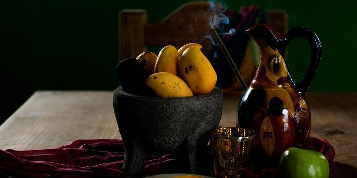 Mango and Chia Seed Lassi