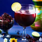 Agua de Jamaica or Hibiscus Tea by @SpicieFoodie
