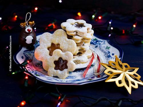 How To Make Czech Linzer Cookies Mexican Made Meatless