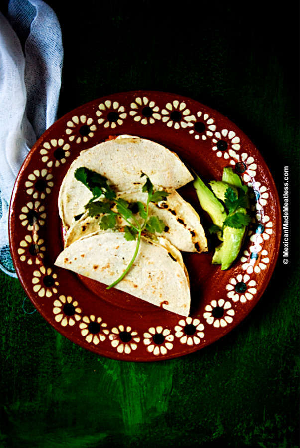 How to make Mexican squash blossom quesadillas
