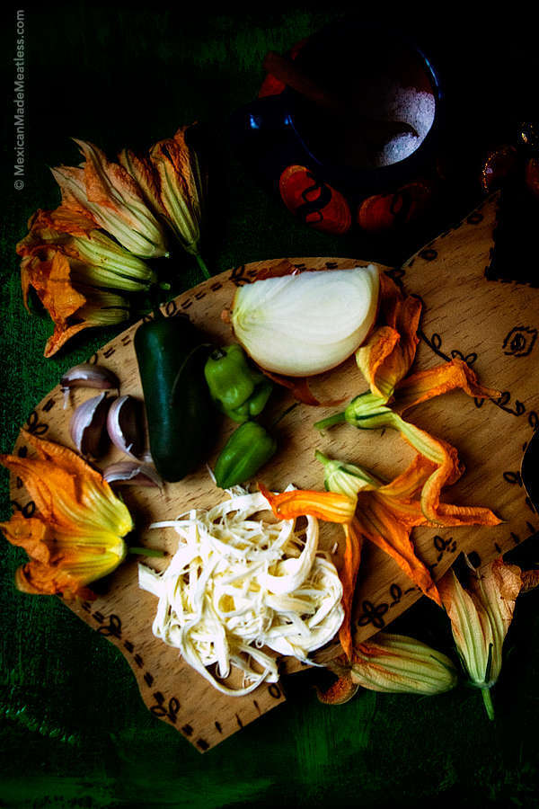 Squash Blossoms Quesadillas Recipe
