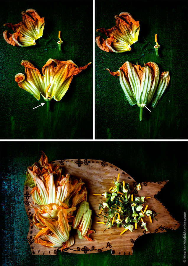 How to Prepare Squash Blossoms