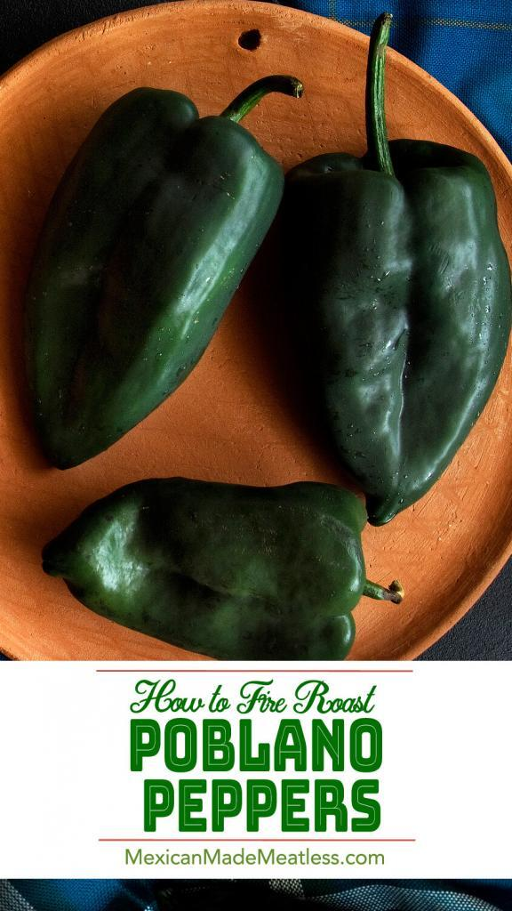 How to Cook Poblano Peppers| Poblano peppers are the best tasting of the mild chilies, but to truly bring out their deliciousness you must roast them over fire.