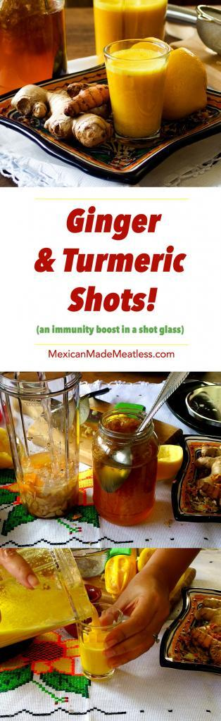How to Make Ginger and Turmeric Shots (Video Recipe) | This is exactly what you need to fight off a cold or flu, or to just give your body an immunity boost!