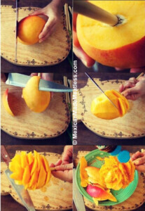 How to Make Mexican Mango Flowers on a Stick