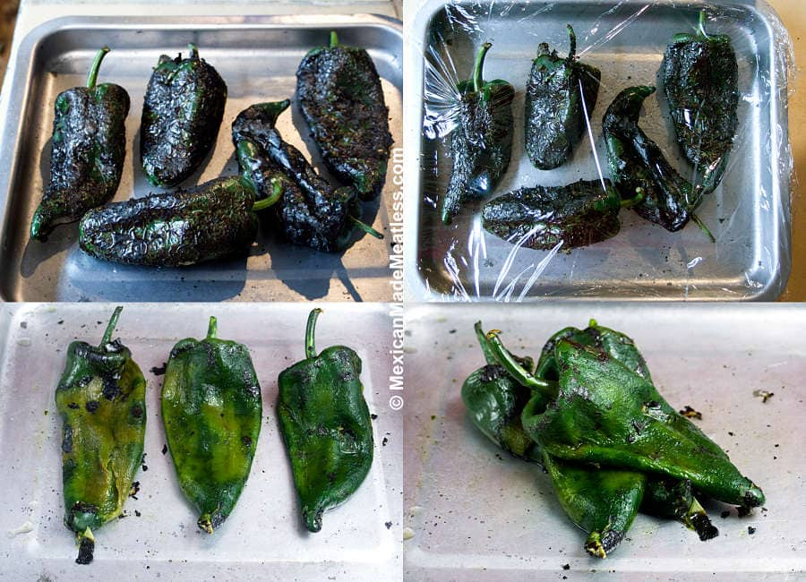 How to Prep Mexican Poblano Peppers