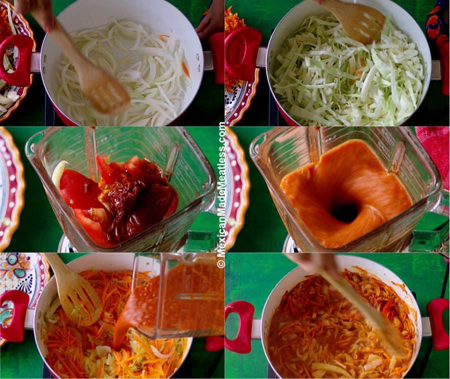 Making a Vegan Tinga Recipe