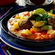 How to Make Mexican Albondigas Soup | Vegetarian & Soy Free (Albondigas en Caldillo)