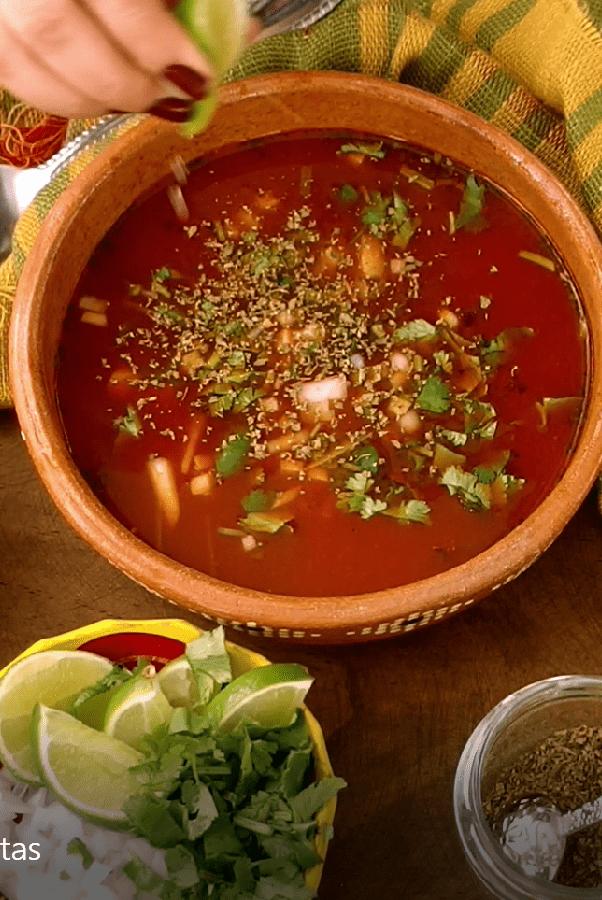 VEGAN MEXICAN MENUDO RECIPE