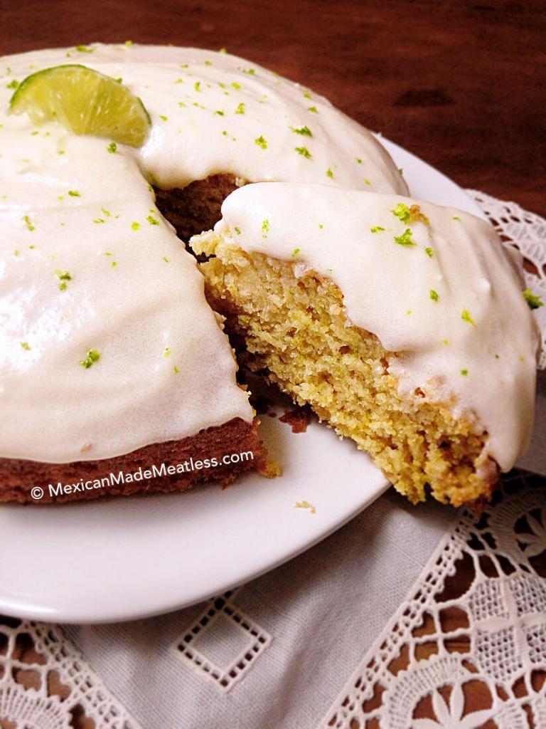 Mexican Lime Cake with Cream Cheese Frosting