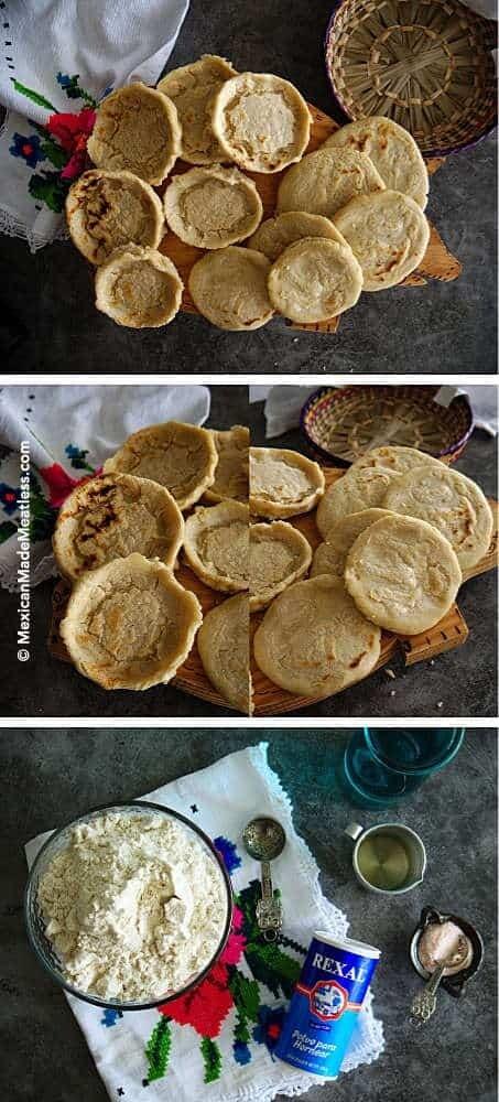 How to make vegan gorditas and sopes.