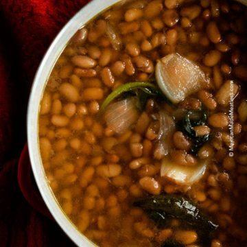 Mexican Vegan Pinto Beans