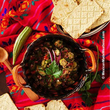 Mexican Style Okra