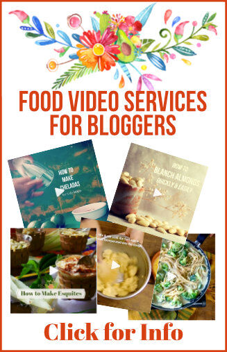 Food Video Services For Bloggers | Let me shoot your recipe videos!