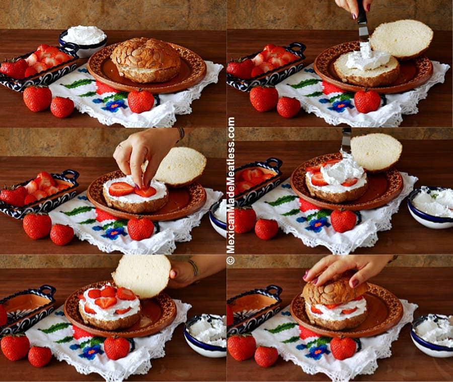 How to Make a Concha Rellena