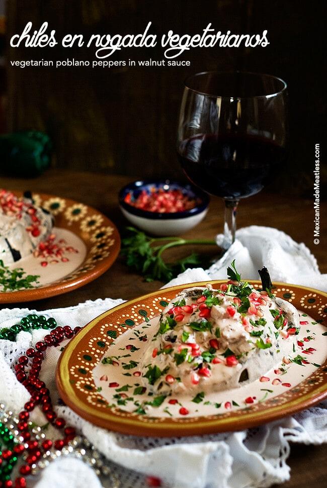 Authentic Chiles en Nogada Recipe