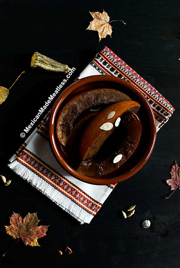 Mexican candied pumpkin (calabaza en tacha recipe)
