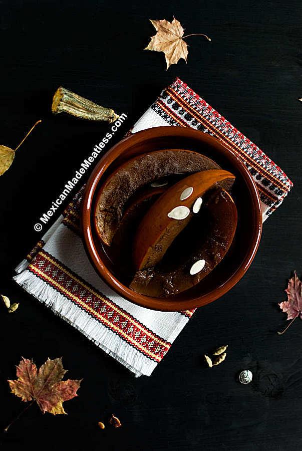 Mexican candied pumpkin (calabaza en tacha recipe)
