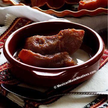 Recipe for Mexican pumpkin dessert
