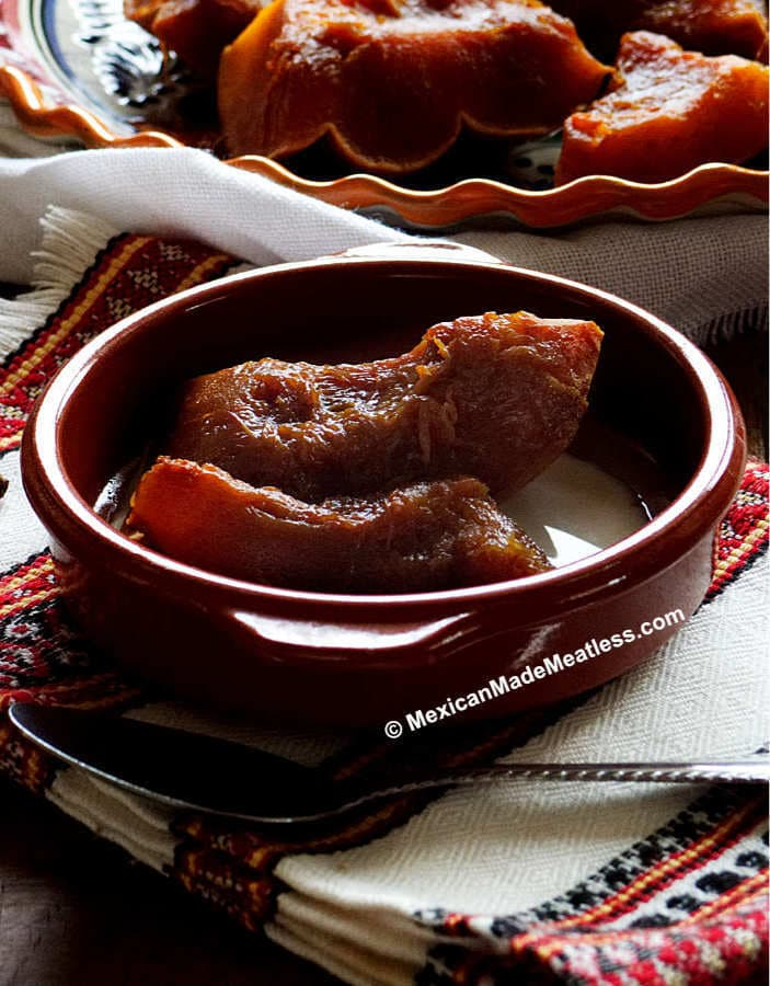 Recipe for Mexican pumpkin dessert