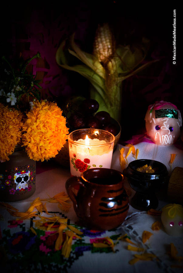 Elements for Day of the Dead Altar