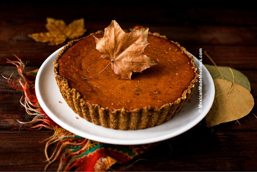 Gluten-Free Pumpkin Pie for Two