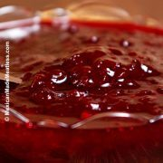 Piloncillo and Merlot Cranberry Sauce