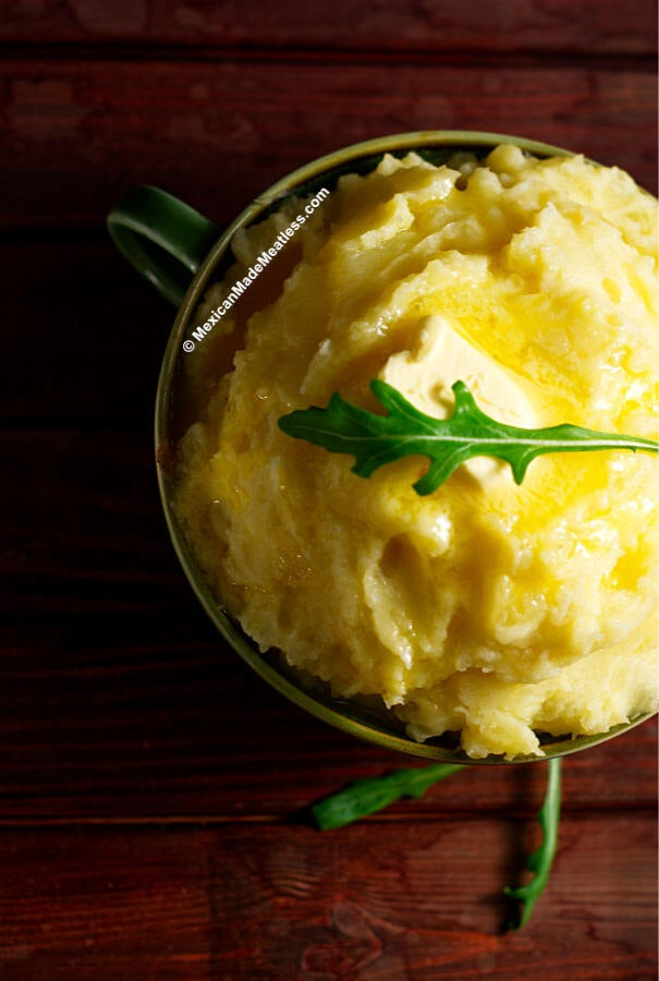 The best and creamiest mashed potatoes
