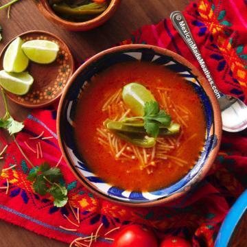 Mexican Sopa de Fideo Recipe