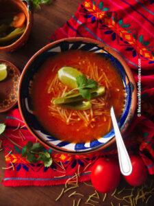 How to Make Mexican Fideo Soup (sopa de fideo)