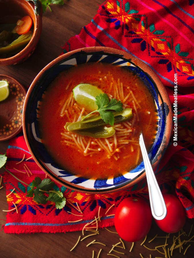 How to Make Mexican Fideo Soup (sopa de fideo)