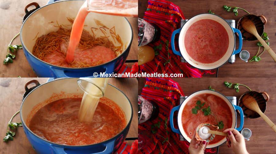 Mexican Sopa Recipe (sopa de fideo)