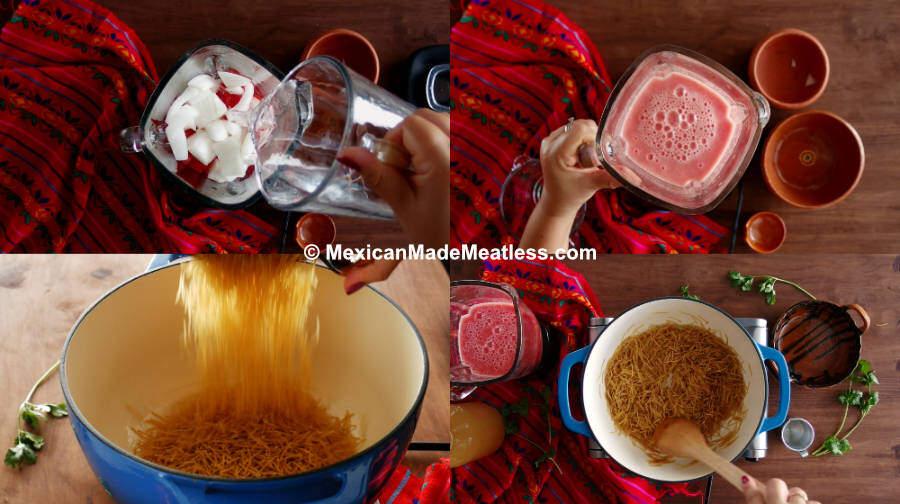 How to Cook Sopa de Fideo