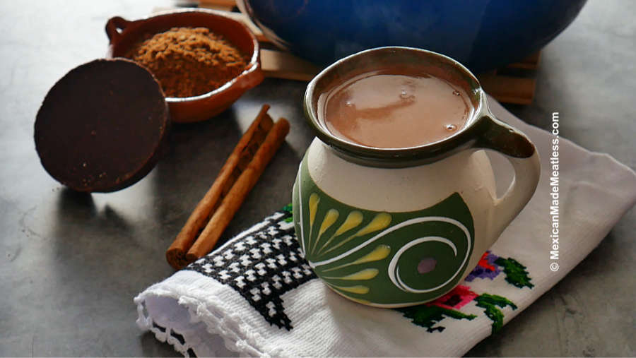 Learn how to make Mexican chocolate champurrado