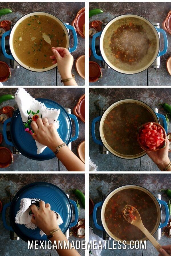 How to Make VeganLentil Soup