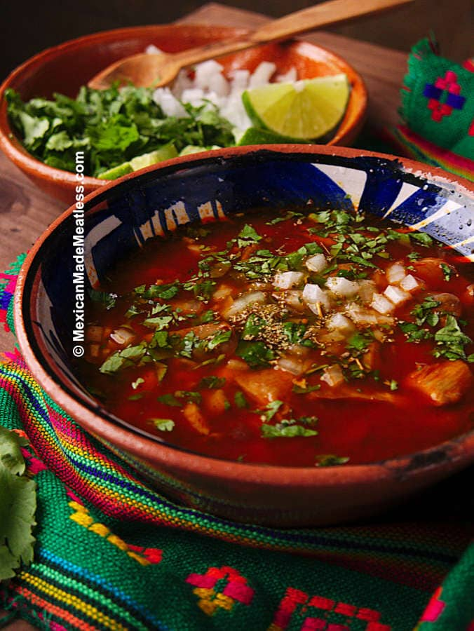 How to make Vegan Mexican Menudo in an Instant Pot