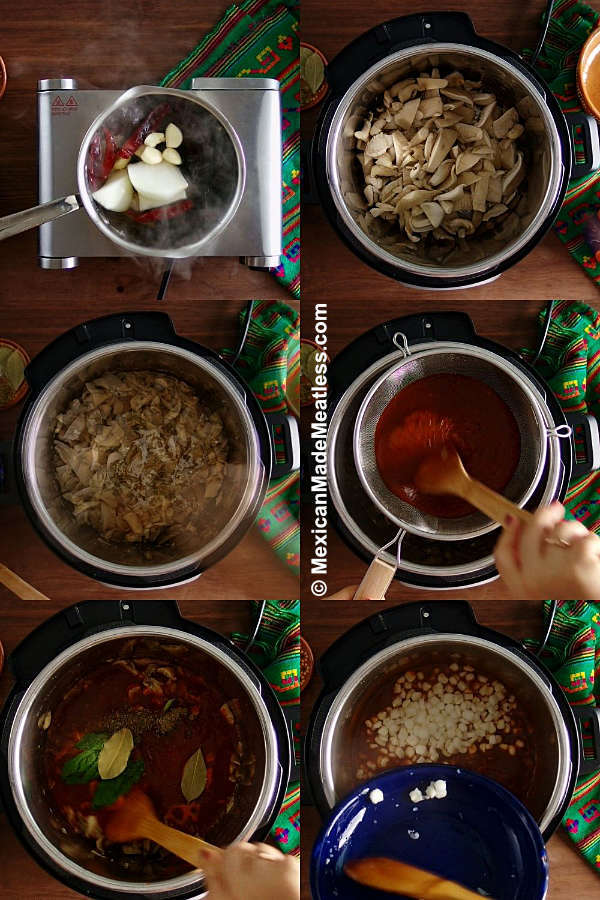 Steps for Cooking Instant Pot Menudo