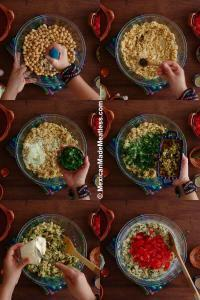 How to Make Chickpea Tuna Salad Mexican Style