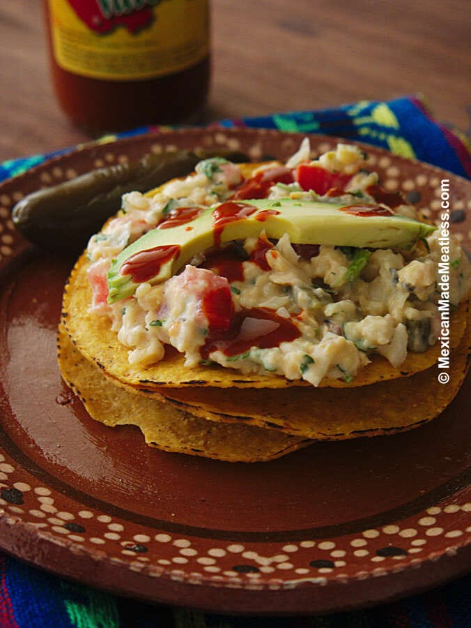 How to Make Mexican Chickpea Tuna Salad