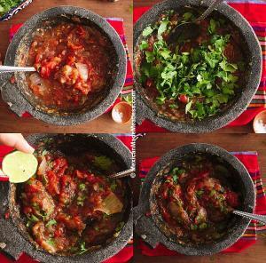 Restaurant Style Roasted Tomato Salsa