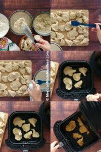 How to Make Air Fryer Vegan Fried Chicken