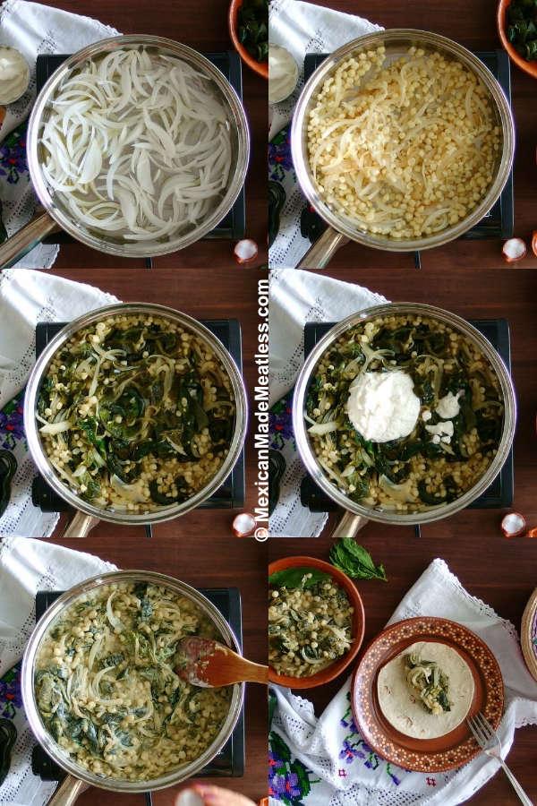 How to Make Rajas Poblanas