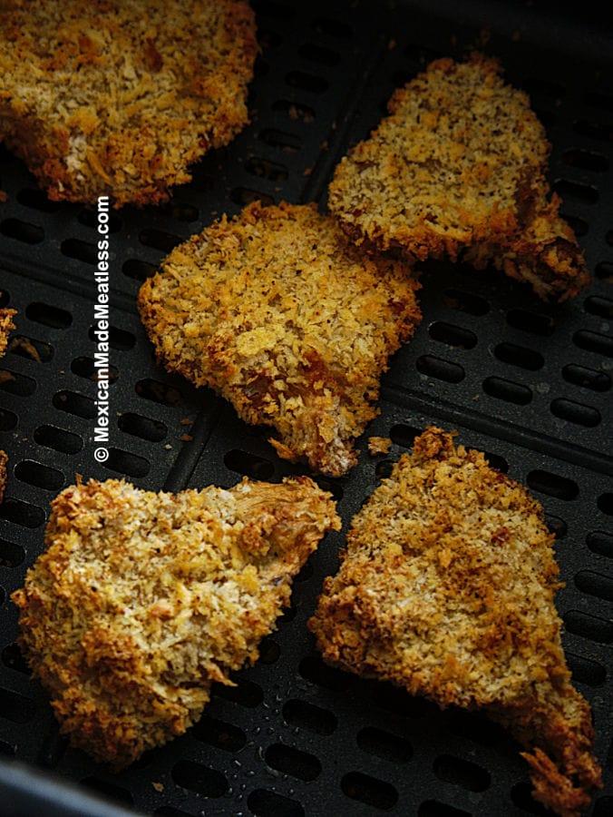 Air Fried Vegan Chicken