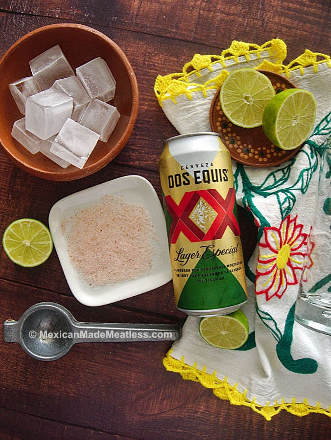 These are ingredients used to make Cheladas