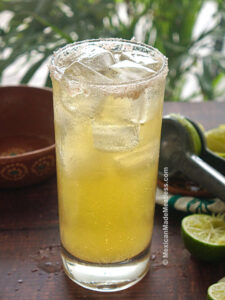 Chelada Mexican Beer Cocktail