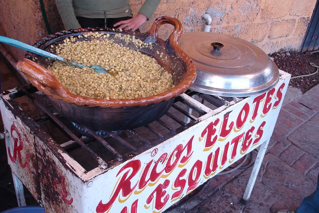 Mexican Esquites Street Vendor