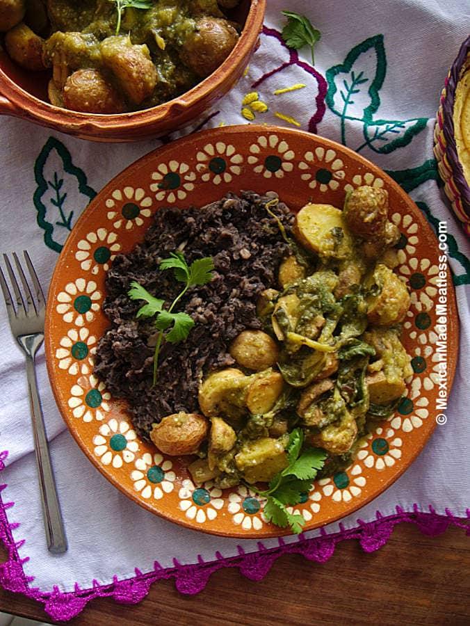 Verdolagas in Salsa Verde Recipe