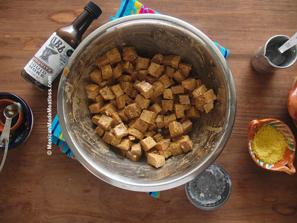 How to Marinate Tofu to Taste Like Meat